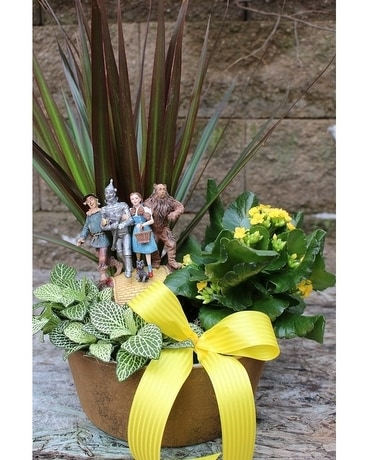 Yellow Brick Road European Garden by Alfa Flower Arrangement