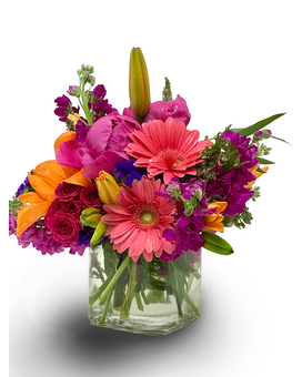 Birthday flowers delivery milwaukee wi alfa flower shop quick view springtime compact dazzler new flower arrangement by alfa flower shop mightylinksfo