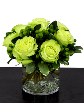 Lucky Roses Flower Arrangement