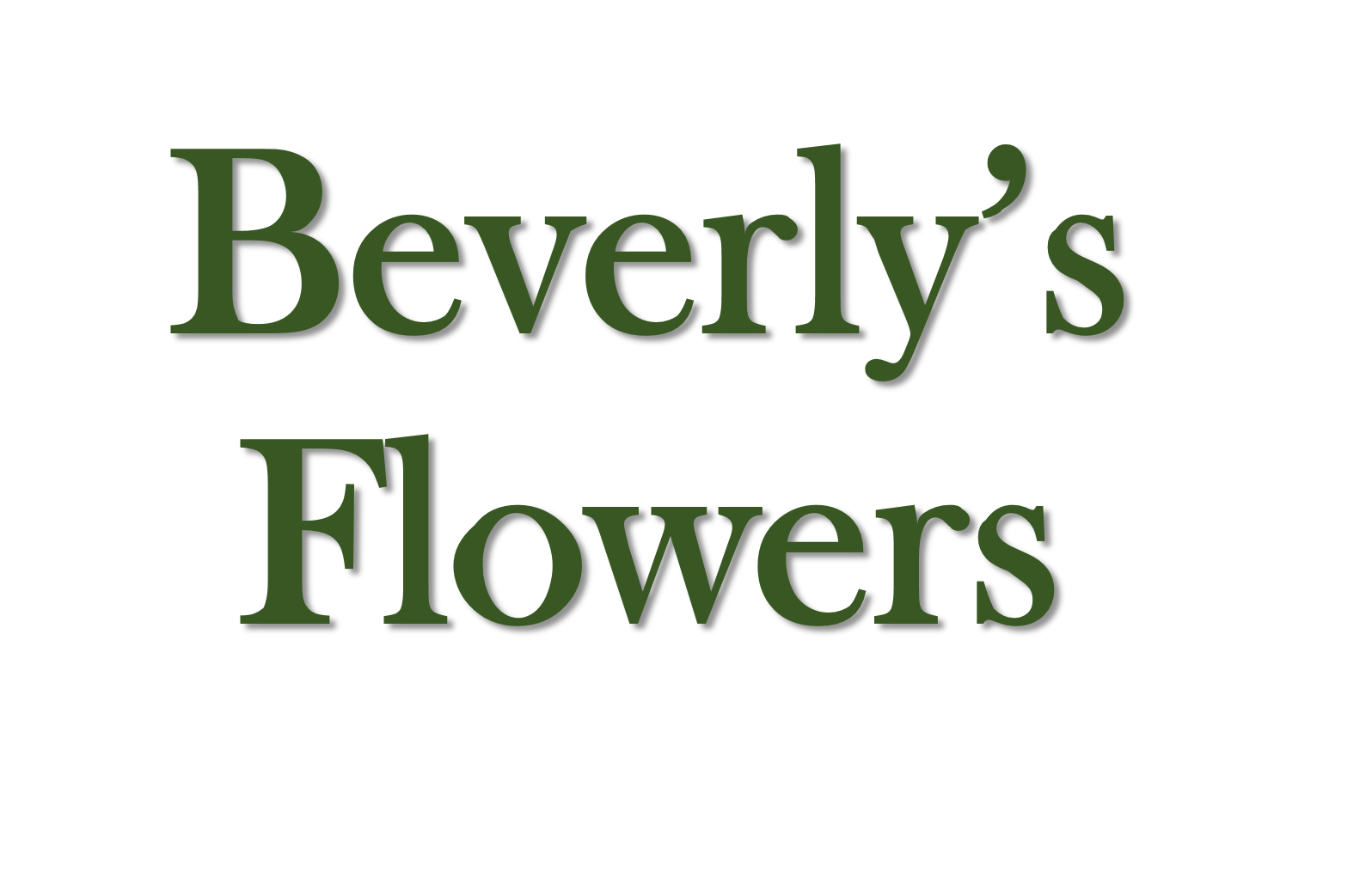 Beverly's Flowers