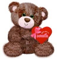 Chocolate Brownie Plush Bear