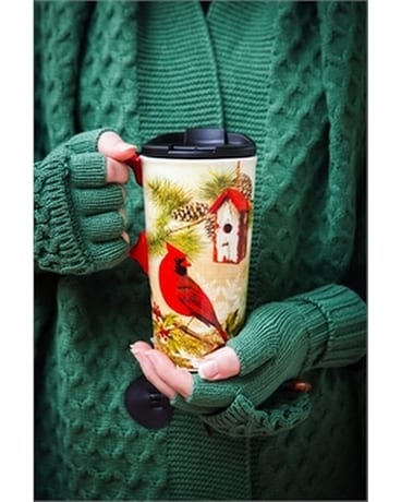 Travel Cup Winter Cardinal Gifts