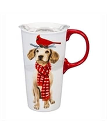Travel Cup Christmas Dog Gifts