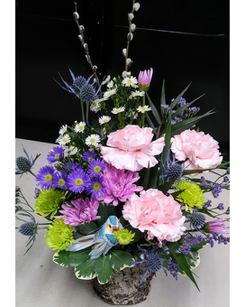 The Bird Watcher Flower Arrangement