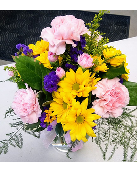 Cheerful Mixed Arrangement Flower Arrangement