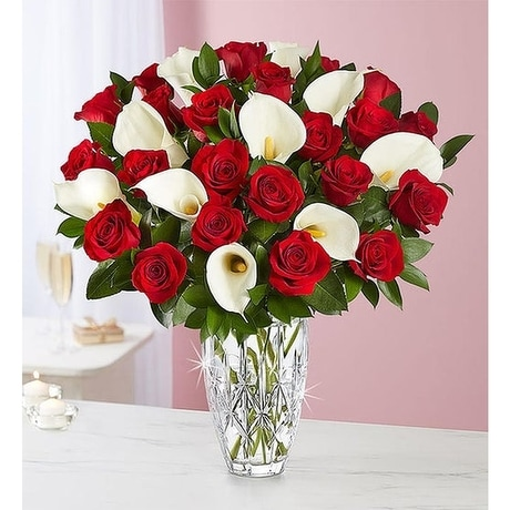 Waterford Red Rose Calla Lily Bouquet In Jupiter Fl Anna Flowers