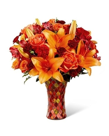 Fall Mosaic Flower Arrangement