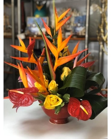 Grand Exotic Paradise Flower Arrangement