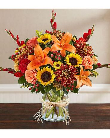 ANNA FLOWERS FALL FANTASIA Flower Arrangement