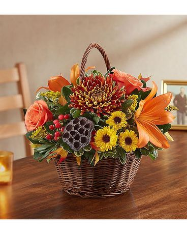 PEACE PRAYERS AND BLESSINGS FOR FALL Flower Arrangement