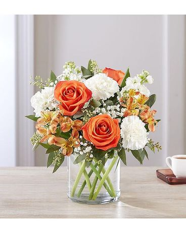 HEARTFELT FALL EMBRACE Flower Arrangement