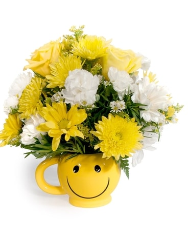 Santa Fe Smiles Flower Arrangement