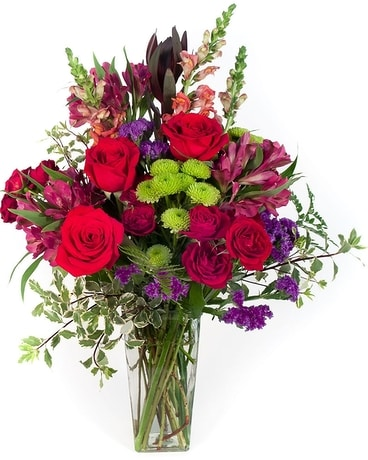 Santa Fe Richness Flower Arrangement
