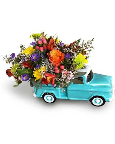 Pick-me-up Pick Up Flower Arrangement