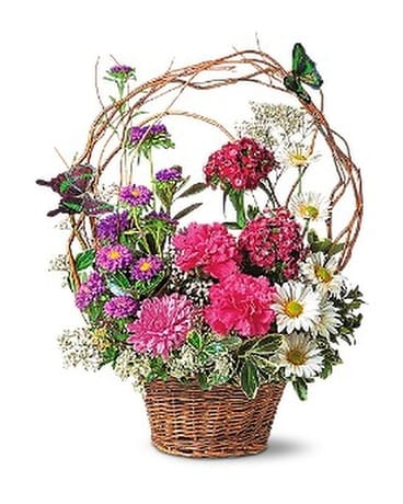 Touch of Butterflies Flower Arrangement