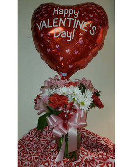 Valentine's Day Combo #3 Flower Arrangement