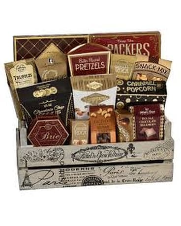 Crate Delight Gourmet Basket