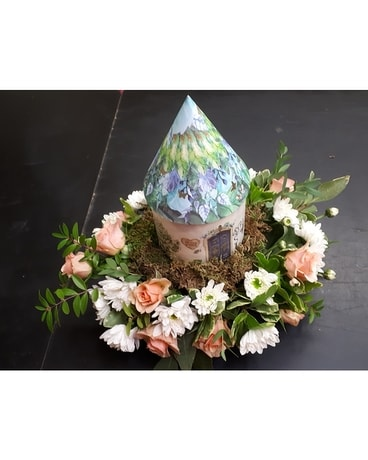 Fairy Centerpiece Flower Arrangement