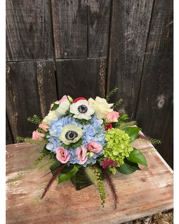 Late Summer Garden Flower Arrangement