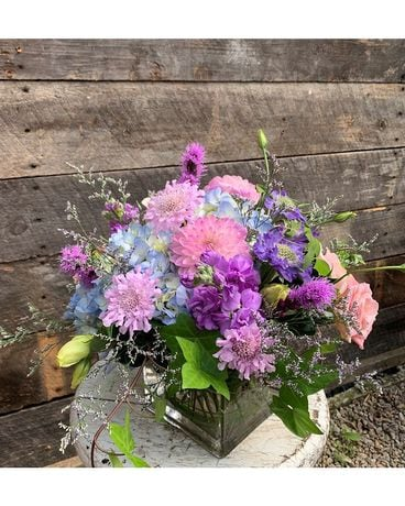 Lavender Blooms Flower Arrangement