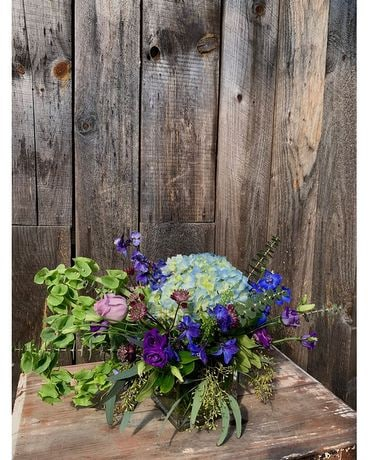 True Blue Flower Arrangement
