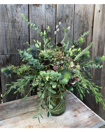 Path in the Woods Flower Arrangement