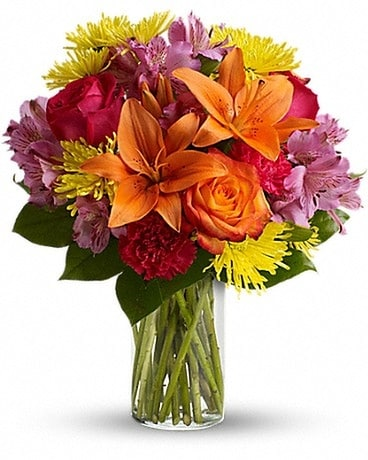 Bright Smiles Flower Arrangement