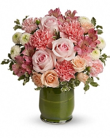 Roses & Smiles Flower Arrangement