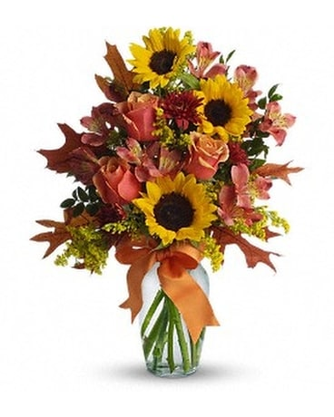 Warm Embrace Flower Arrangement