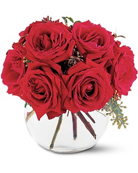 Gathering Of Roses Flower Arrangement