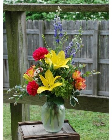 Summer Fun Vase In Hales Corners Wi Barbs Green House Florist