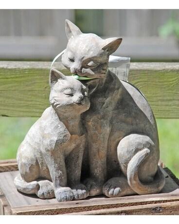 Cat Garden Statue Gifts ...