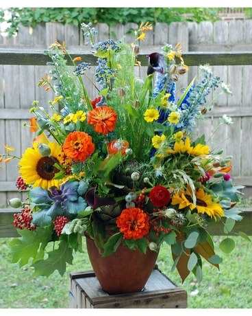 Farmhouse Bouquet Flower Arrangement