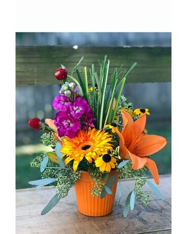 Welcome Fall Flower Arrangement