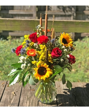 Urban Farmhouse Flower Arrangement