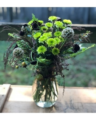 Fall into texture Flower Arrangement