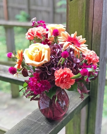 Seasonal Sophistication Flower Arrangement