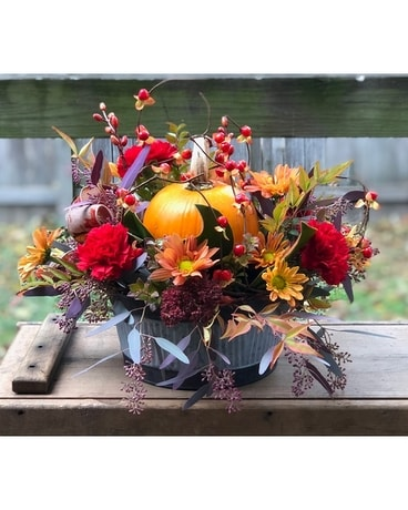 Pumpkin Pie Flower Arrangement
