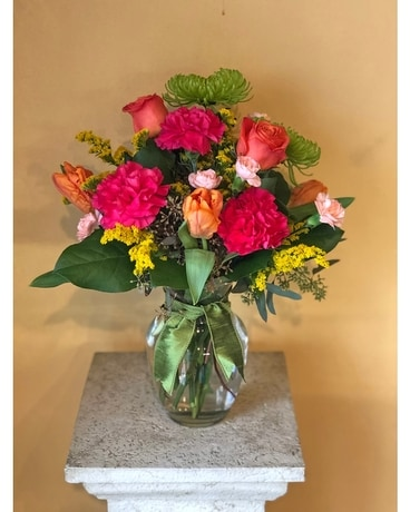 Colors of Love Flower Arrangement