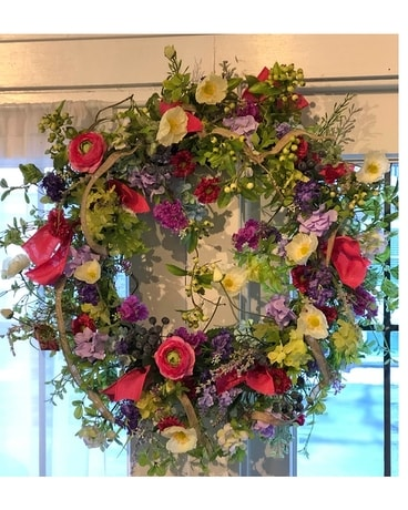 Spring Wreath Specialty Arrangement