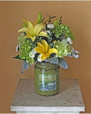 BGHF Fresh Picked Flower Arrangement
