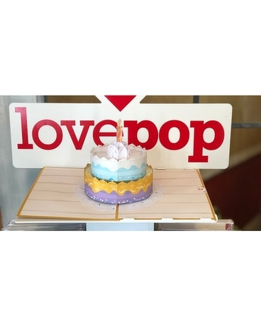 LovePop Happy Birthday Cake Card Gifts