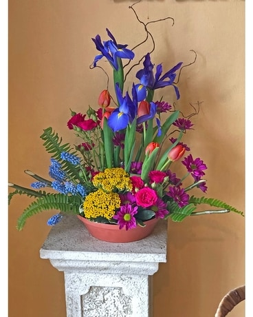 A Garden Party Flower Arrangement
