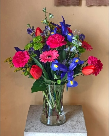 Vibrant Spring Flower Arrangement