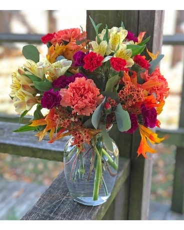 Autumn Sunrise Flower Arrangement