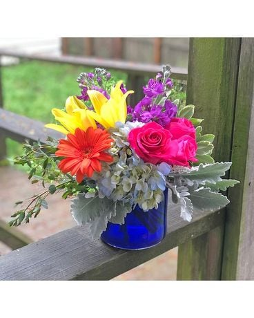 Blissful Charm Flower Arrangement