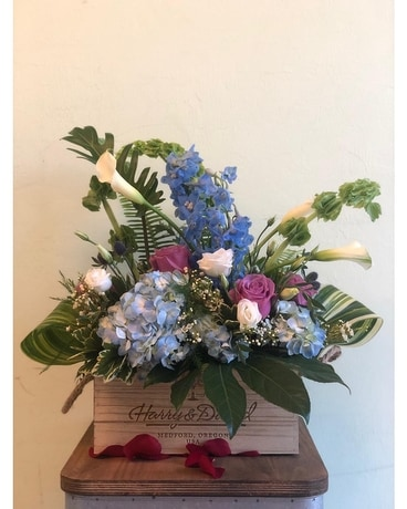 Swiss Garden Flower Arrangement