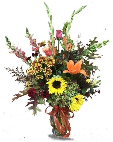 BURST OF FALL Flower Arrangement
