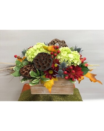 Nature in a Box Flower Arrangement