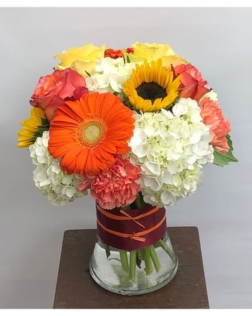 Festive Fall Fashionista Flower Arrangement
